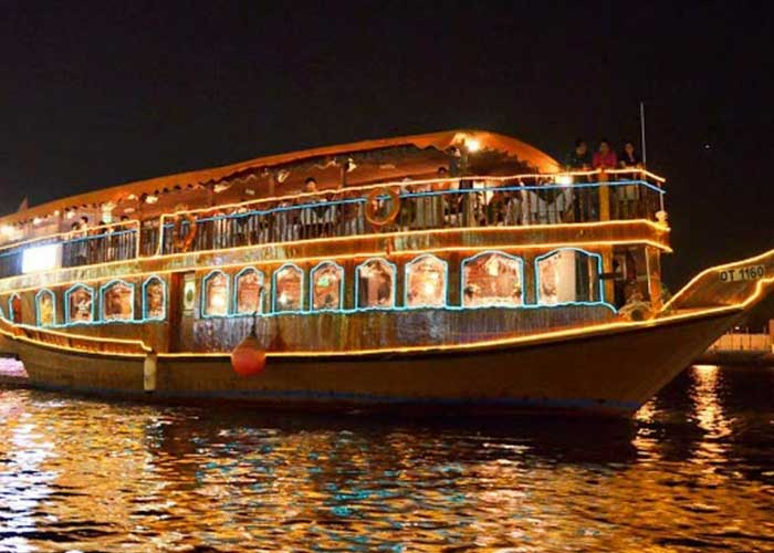 Day 02 Dubai -City Tour - Dhow Cruise With Dinner